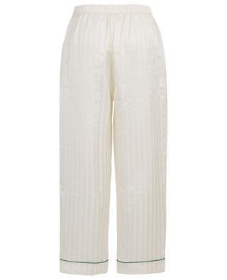 Passport striped satin pyjama trousers ERES