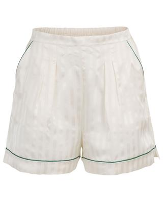 Dutyfree striped satin pyjama shorts ERES