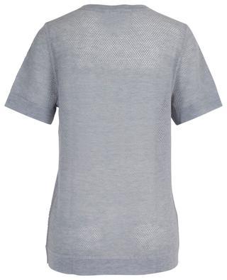 Kurzarm-Pullover aus Netz-Kaschmir Tisane ERES