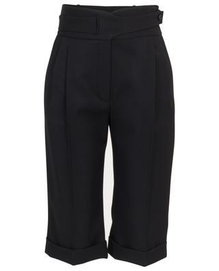 Grain de poudre wool tailored capri trousers SAINT LAURENT PARIS