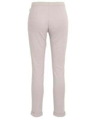 Pantalon droit en coton mélangé Flasco MAX MARA LEISURE