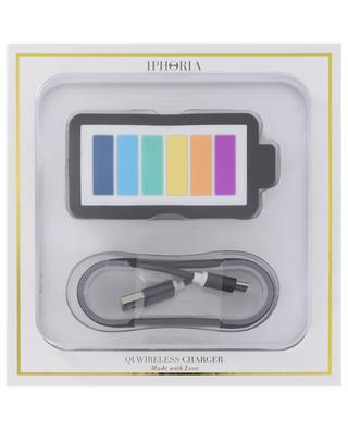 Chargeur sans fil QI Wireless Rainbow is Power IPHORIA