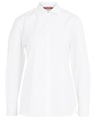Smirne cotton poplin shirt MAXMARA STUDIO
