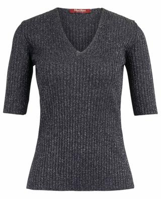 Cartone ribbed lurex top MAXMARA STUDIO