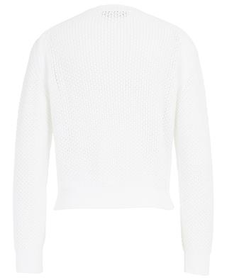 Nalut net knit cotton jumper MAXMARA STUDIO