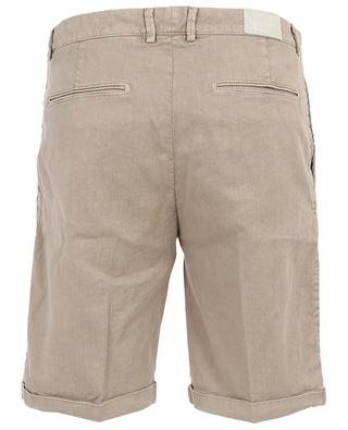 Cruise 1869 linen and cotton blend Bermuda shorts JACOB COHEN