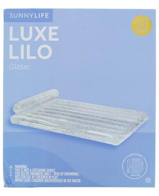 Matelas gonflable à paillettes Glitter SUNNYLIFE