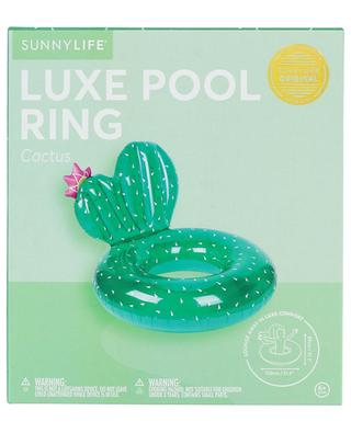 Cactus big inflatable luxe pool ring SUNNYLIFE