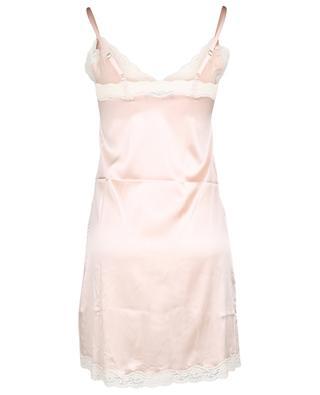 Lace embellished silk satin baby doll VANNINA VESPERINI