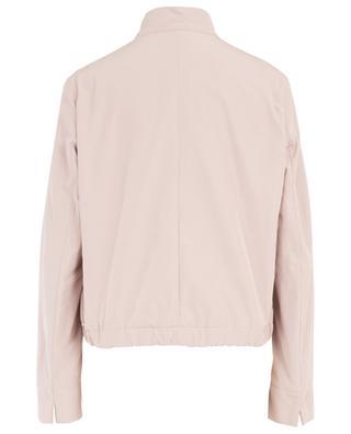 Lightweicht jacket in satin effect nylon WINDSOR