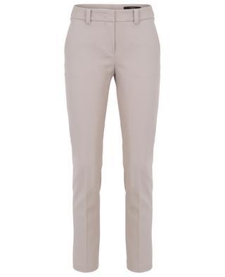 Pantalon slim en gabardine WINDSOR