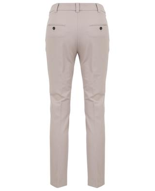 Gabardine slim fit trousers WINDSOR
