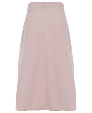 A-line midi skirt with inverted pleats WINDSOR