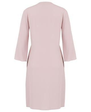 Long-sleeved tunic dress in crepe WINDSOR