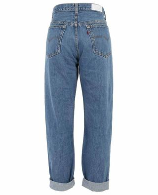 Double Yoke high-rise straight fit jeans RE/DONE