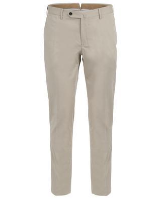Pantalon chino en coton et soie Silkochino PT TORINO