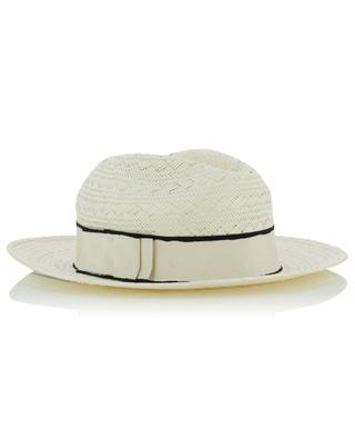 Marco woven paper hat with ribbon ERES