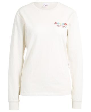 T-shirt manches longues en coton imprimé 90s Motel RE/DONE