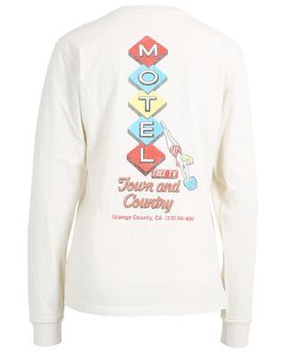 Langarm-T-Shirt aus Baumwolle mit Print 90s Motel RE/DONE