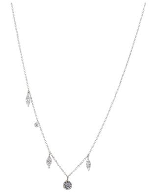 Ailes white gold, diamond and sapphire necklace GBYG