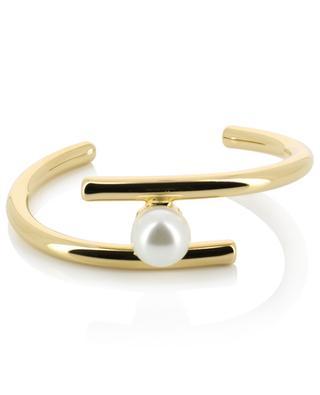 Perlea faux pearl golden bracelet THEGOLDLOVESHOP