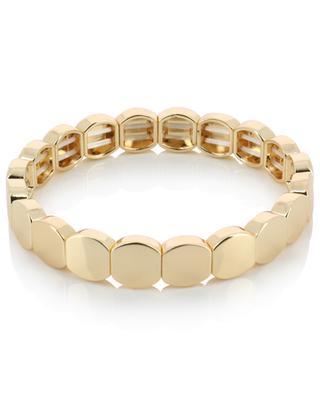 Email golden elasticated metal bracelet THEGOLDLOVESHOP