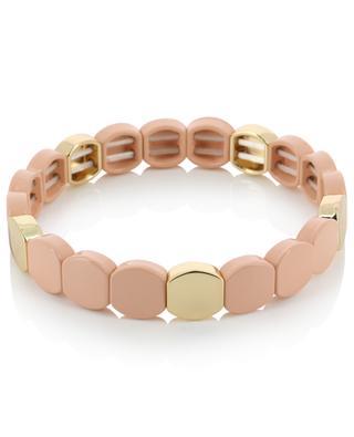 Elastisches Armband aus goldenem Metall Email THEGOLDLOVESHOP