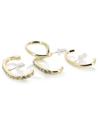 Atypique golden earrings with strass THEGOLDLOVESHOP