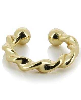 Torsade golden cartilage earring THEGOLDLOVESHOP