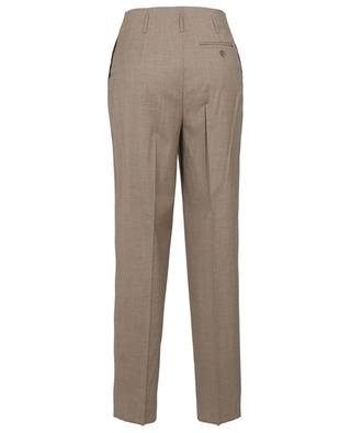 Dinda straight fit fluid wool blend trousers MAX MARA STUDIO