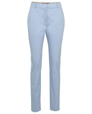 Agente straight fit cotton trousers MAX MARA STUDIO
