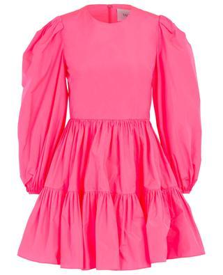 Robe en popeline rose fluo VALENTINO