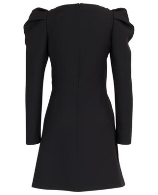 Square neck mini dress with puffy shoulders VALENTINO