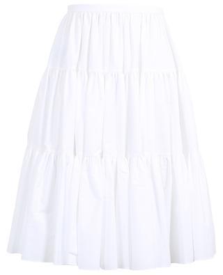 Ruffled cotton blend skirt VALENTINO