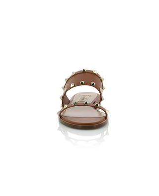 Rockstud leather flat slides VALENTINO
