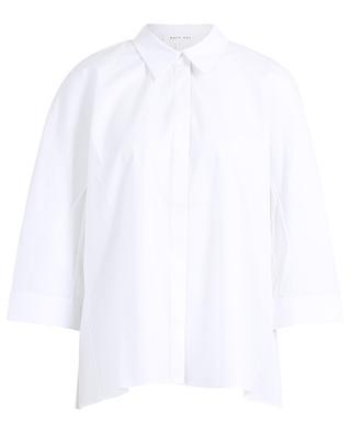 Hemd aus Popeline mit plissiertem Rücken Leko HANA SAN