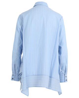 Asymmetrisches gestreiftes Hemd aus Baumwolle Benkei HANA SAN