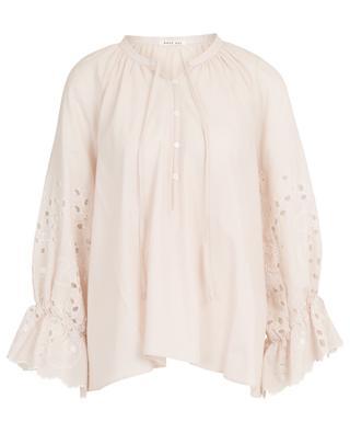 Nori cotton blouse with openwork details HANA SAN