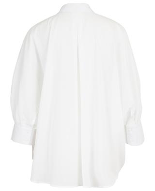 Weites gestreiftes Baumwollhemd Fujin HANA SAN