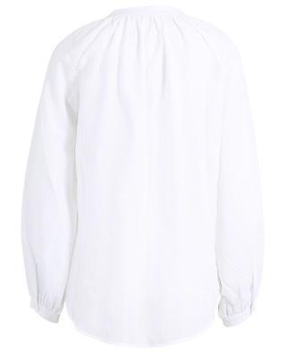 Bestickte Langarm-Bluse aus Baumwolle Bobu HANA SAN