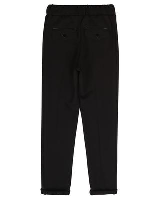 Milano knit trousers with logo detail GIVENCHY