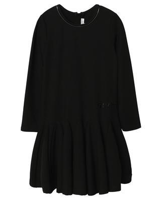 Milano-Strick-Kleid mit Logo aus Vinyl GIVENCHY