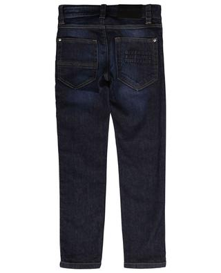 Slim-Fit-Jeans mit Logoband Rinse Wash GIVENCHY