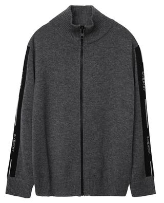 Mock collar cardigan with logo detail GIVENCHY