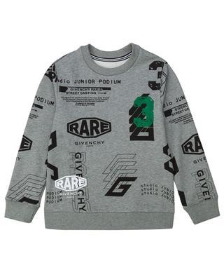Sweat-shirt à col rond Spirit Rare GIVENCHY