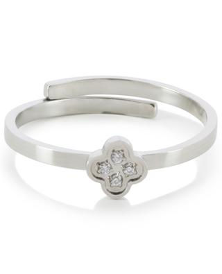 Adjustable ring with flower IKITA
