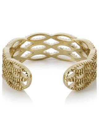 Offener goldener ziselierter Ring IKITA