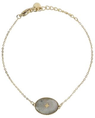 Golden bracelet with cabochon and star IKITA