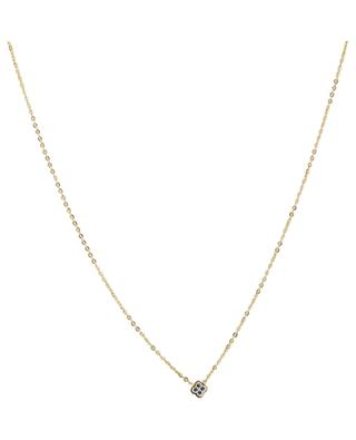Choker with crystal clad floral IKITA