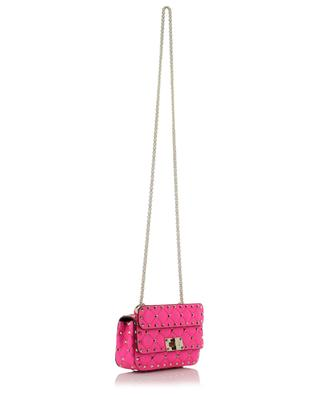 Mini Rockstud Spike Fluo quilted studded leather handbag VALENTINO